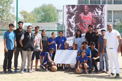 AKGEC Contingent at IIT Ropar Sports Fest 'AAROHAN'