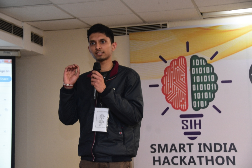 INTERNAL SMART INDIA HACKATHON (SIH) 2020