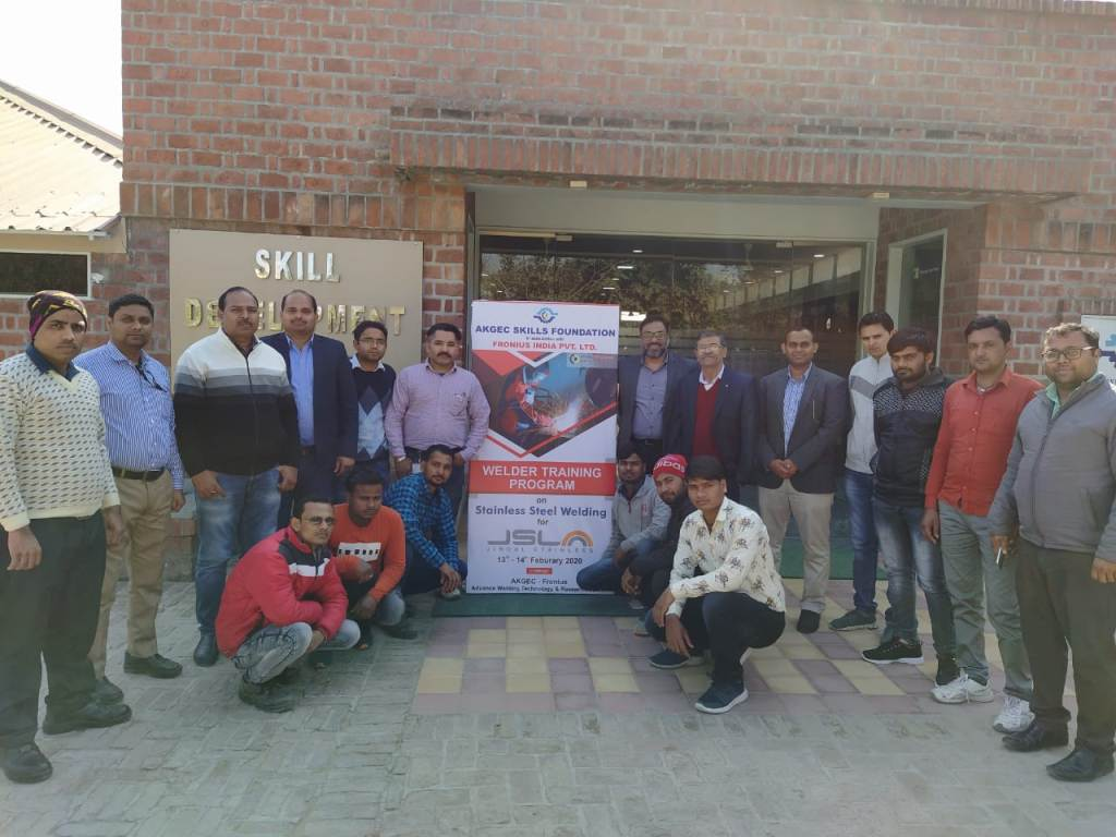Training for  M/s Jindal Stainless Ltd. Welders