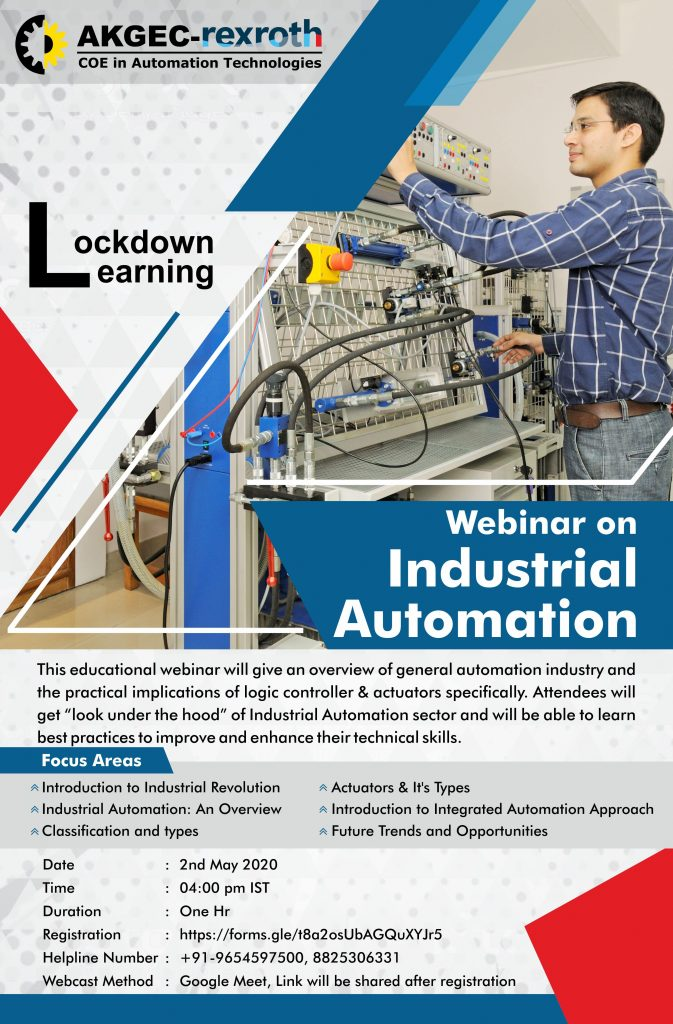 Webinar on Industrial Automation