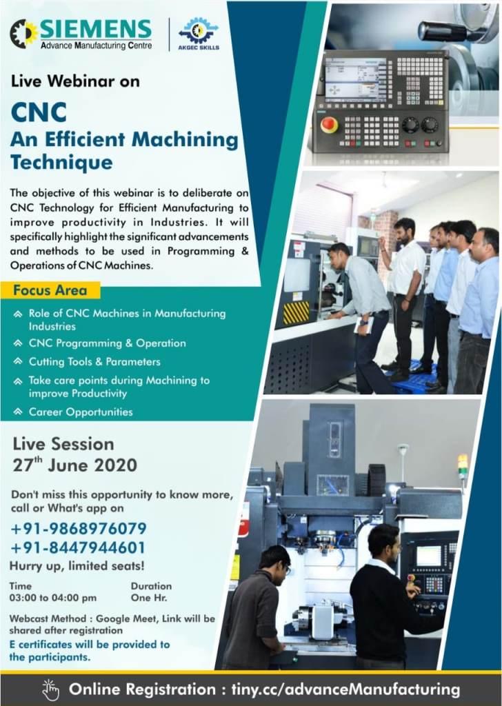 Webinar on CNC